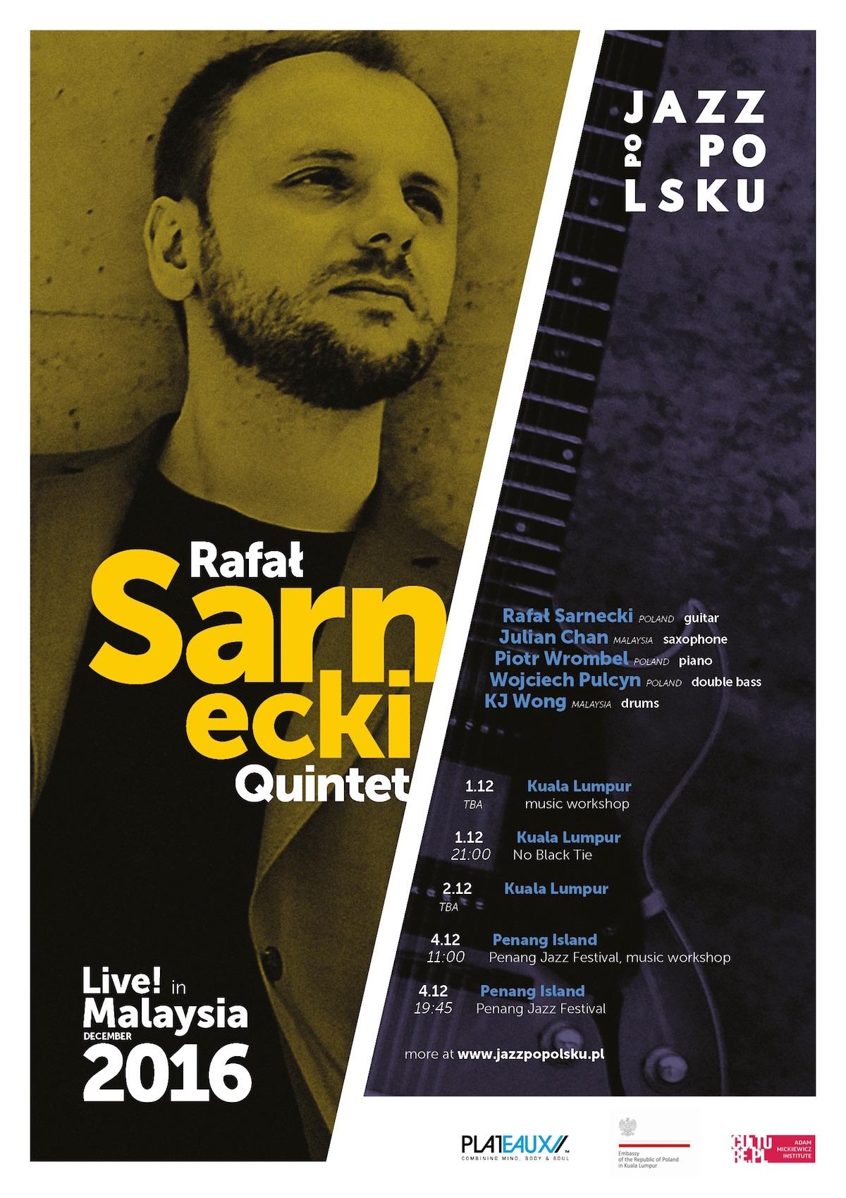 Rafał Sarnecki Live in Malaysia 2016