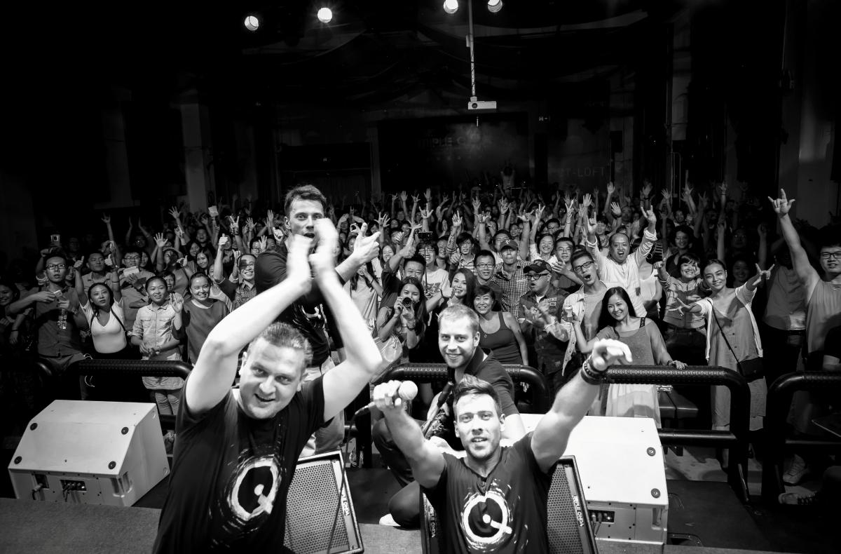 IQ China tour 2014 SHENZHEN fot Rafał Jarzombkowski