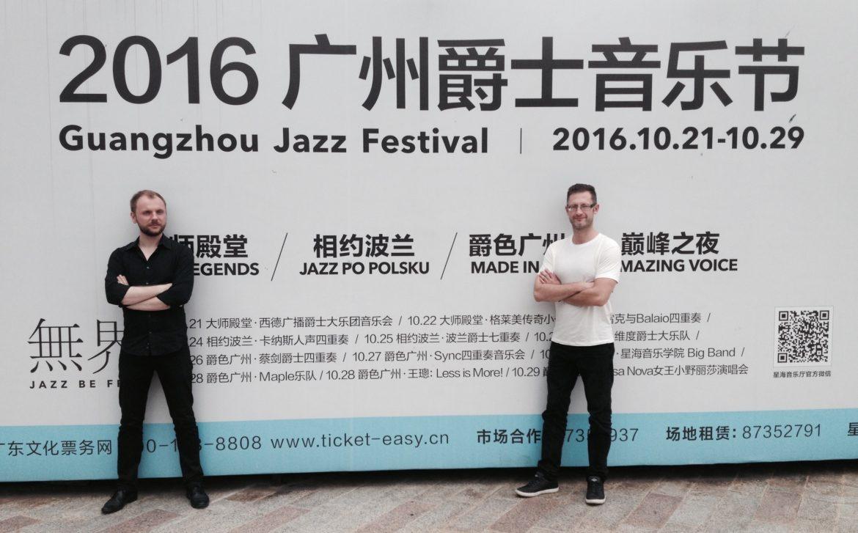 Rafał Sarnecki, Jakub Krzeszowski - Guangzhou Jazz Festival 2016