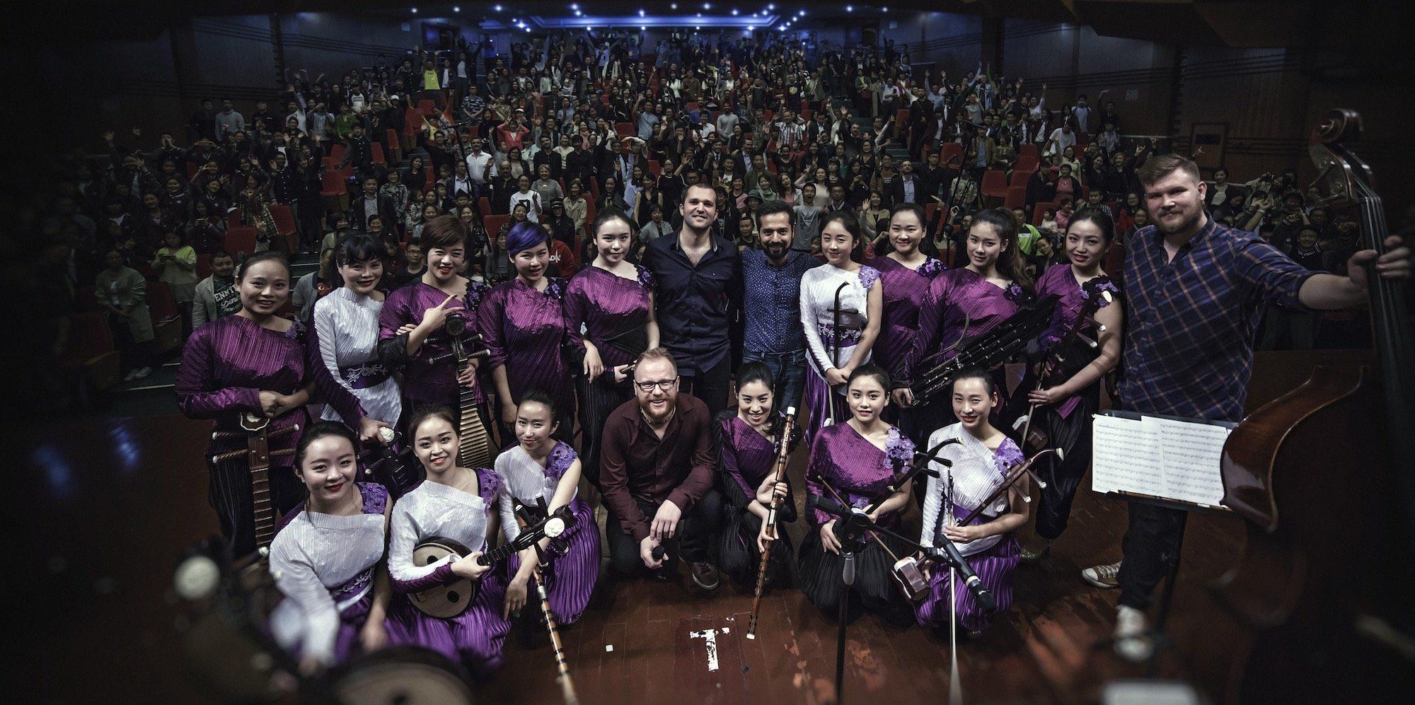 Grzegorz Karnas Formula fot.M. Głowiński / Jazz PoPolsku Live in China 2016