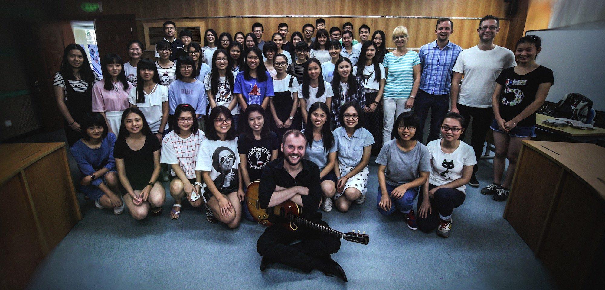 Rafał Sarnecki fot.M. Głowiński / Jazz PoPolsku Live in China 2016